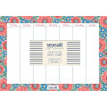 Sea Salt: Life by the Sea Weekly Planner and Mouse Pad