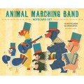 Animal Marching Band Notecard Set