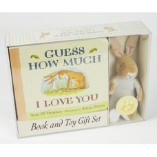 Guess How Much I Love You: Board book with Toy